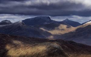 Картинка Шотландия Гора Highlands Природа