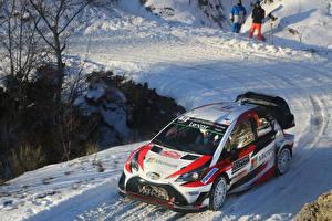 Обои Тойота Тюнинг Ралли 2017 Yaris WRC (XP130) Авто
