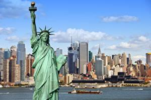 статуя свободы в хорошем качестве фото