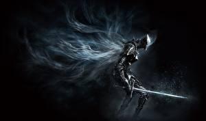Обои Воители Dark Souls Мечи Доспехи 3 Игры Фэнтези