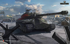 Картинка World of Tanks Танки Русские Object 252U Defender Игры