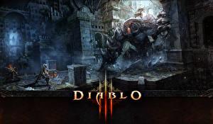Фотография Diablo III Монстры Воители Игры
