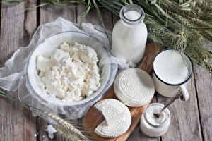 Картинки Молоко Творог Сыры Колос Еда