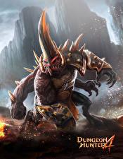 Фотографии Монстры Рога Dungeon Hunter 4, Guildhall Of Glory Игры Фэнтези