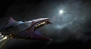 Фотография Star Citizen Космолет компьютерная игра Космос Фэнтези
