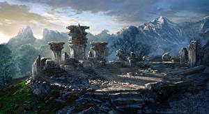 Фото The Witcher 3: Wild Hunt Горы Развалины