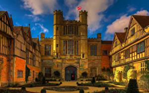 Обои Великобритания Дома Дизайн Warwickshire Coughton Court Города