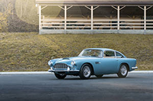 Фотография Aston Martin Ретро Голубой 1961-62 DB4 Worldwide (Series IV) Автомобили