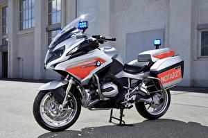 Картинки BMW - Мотоциклы Крупным планом 2015-16 R 1200 RT Notarzt Мотоциклы