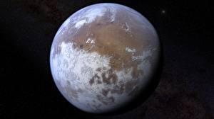 Обои Крупным планом Планеты Марс Космос