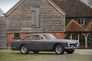 Картинка Феррари Винтаж Серый 1962-63 250 GT 2 2 Coupe Worldwide (Series III) Pininfarina Машины