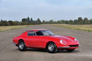 Фото Феррари Старинные Красный Металлик 1965-66 275 GTB 6C Lega Pininfarina