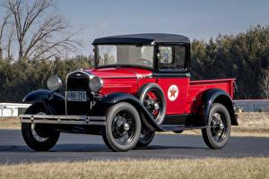 Фотографии Форд Старинные Металлик Пикап кузов 1930–31 Model A Pickup