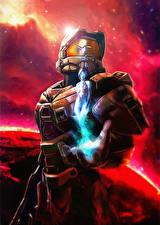 Фотографии Halo 5: Guardians Воины Броня Фэнтези
