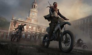 Обои Homefront Мотоциклист The Revolution Игры