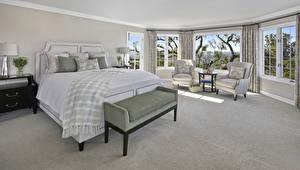 Обои Интерьер Дизайн Спальня Кровать Кресло Фэнтези картинки