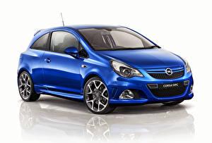 Обои Opel Синий Corsa OPC 2013 Автомобили картинки