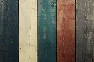 Обои Текстура Доски Разноцветные