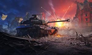 Фотографии WOT Танки Немецкий leKpz M 41 90 mm GF
