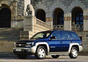 Фотография Шевроле Синий Металлик 2001-05 TrailBlazer Worldwide Авто