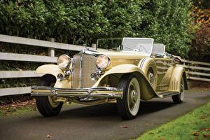 Фотография Chrysler Винтаж Кабриолета 1931 Imperial Dual Cowl Phaeton by LeBaron Автомобили