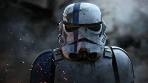 Картинка Клоны солдаты Звездные войны Шлем Фильмы Фэнтези