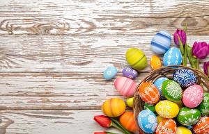 Фото Пасха Праздники Доски Яйца