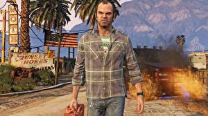 Фото GTA 5 Мужчины Рубашка Trevor Philips 3D_Графика