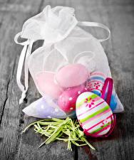 Обои Праздники Пасха Доски Яйца Еда картинки