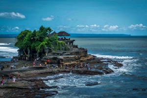 Фотография Индонезия Тропики Побережье Bali Природа