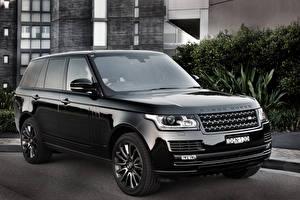 Картинка Land Rover Черный Металлик Vogue Машины