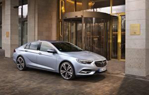 Обои Opel Серебристый 2017 Insignia Grand Sport Turbo D Авто