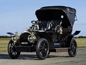 Фотография Ретро Черный 1905 Gardner-Serpollet 18 HP Type L Phaeton Steamer by Kellner Автомобили
