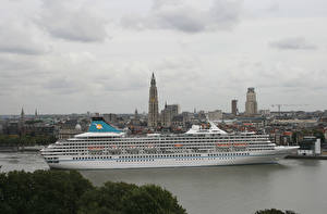 Фотография Корабли Круизный лайнер Cruise Ship MS Artania