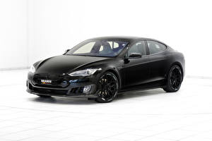 Картинка Tesla Motors Brabus Авто Brabus Model S Автомобили