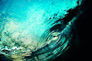 Картинка Волны Вблизи Вода Море Океан Природа