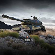Фотографии World of Tanks Танки Русские Blitz. IS-4