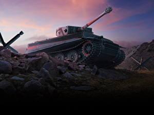 Фото WOT Танки Немецкий Blitz. PzKpfw VI Tiger I