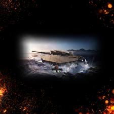 Картинка World of Tanks Танки Английский Blitz, Centurion Mk. 7.1 Игры
