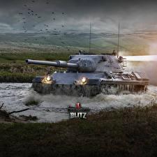 Фотография WOT Танки Немецкий Blitz, Leopard 1