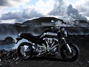 Фотографии Ямаха Сбоку 2005-07 MT-01 Мотоциклы