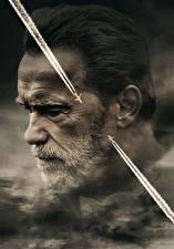 Фотографии Арнольд Шварценеггер Мужчины Борода Голова Aftermath (2017) Кино