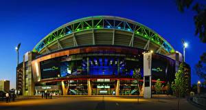 Картинка Австралия Дома Вечер Отель Adelaide