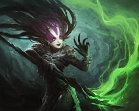 Картинка Демоны Волшебство Посохи
