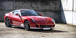 Фотографии Феррари Красный 2011-12 599 GTB 60F1 Pininfarina