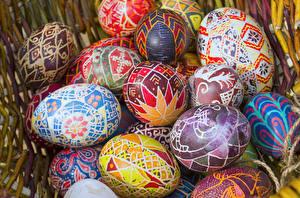 Фотографии Праздники Пасха Яйца Дизайн