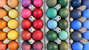 Фотография Праздники Пасха Яйца Разноцветные