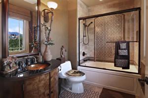Фотографии Интерьер Дизайн Ванная Ламп Туалетная комната