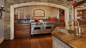 Картинки Интерьер Дизайн Кухня Кран водопроводный