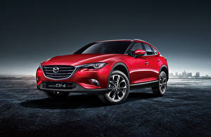 Фотографии Mazda Красная 2016 CX-4 авто